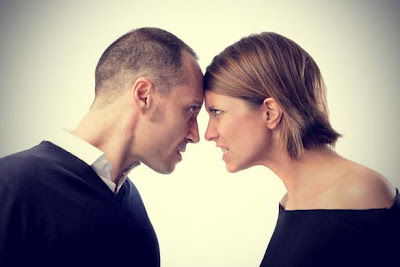 كيف تتعاملين مع شقيقة زوجك - زوجان غاضبان - angry husband couple man woman