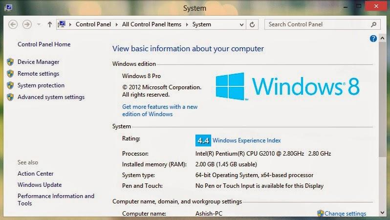 Aero Glass Like Transparency Effect on Windows 8