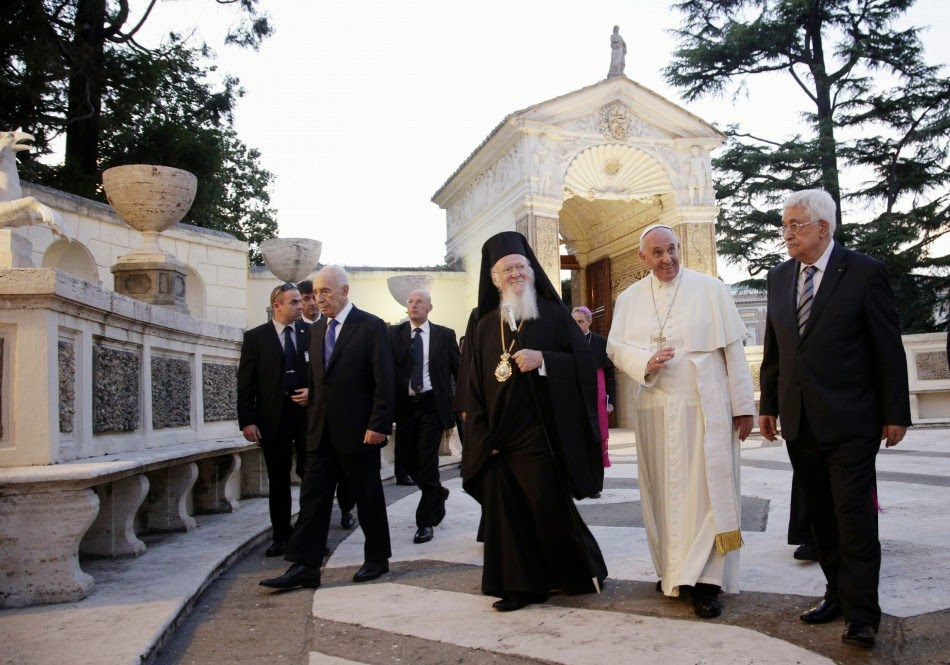 Pope Francis hosts political and ecumenical prayer summit at the Vatican