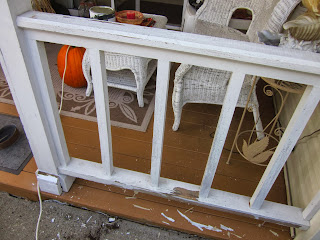 Staining and Painting porches