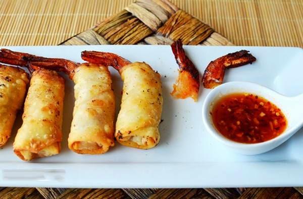 (Tôm Chiên Giòn) - Deep Fried Prawns