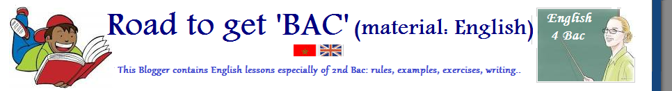 Road to get 'BAC' (material: English)