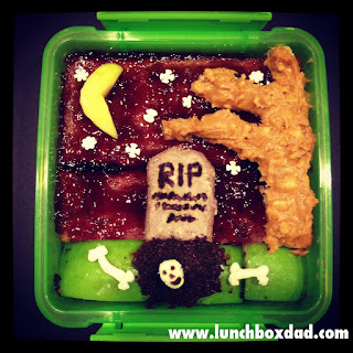 halloween spooky graveyard lunch