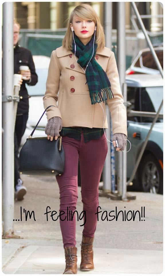 Taylor Swift I'm feeling fashion