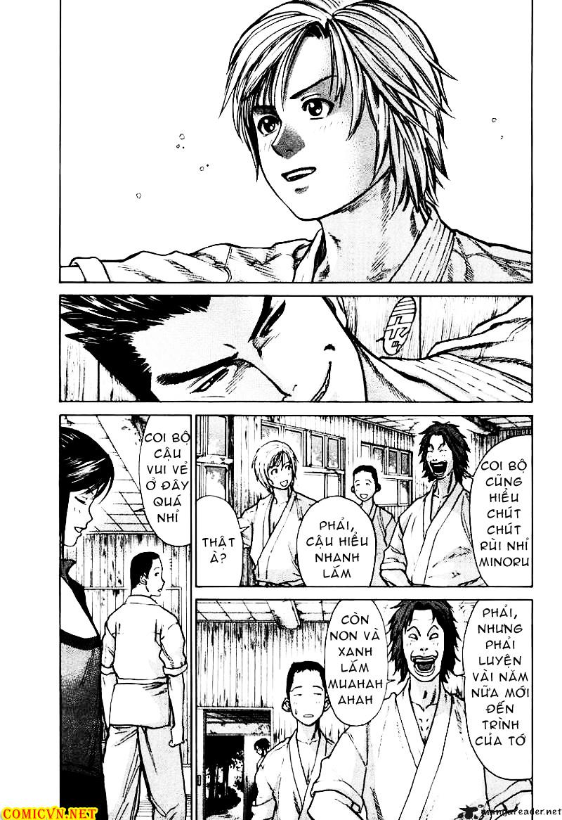 Karate Shoukoushi Kohinata Minoru chap 9 Trang 17