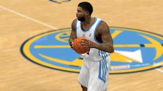 NBA 2K13 Wilson Chandler Tattoo Update Preview