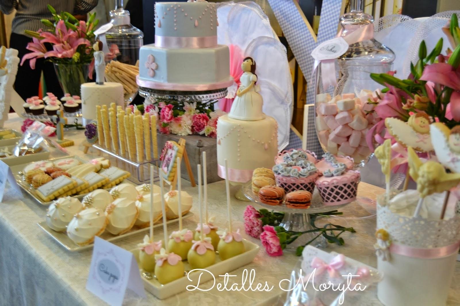 Detalles moryta mesa dulce para primera comuni n en dinovias for Mesa dulce para comunion