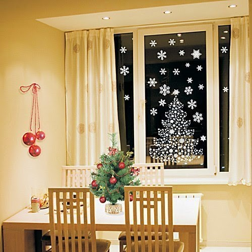 decoraci n de ventanas para navidad mimundomanual
