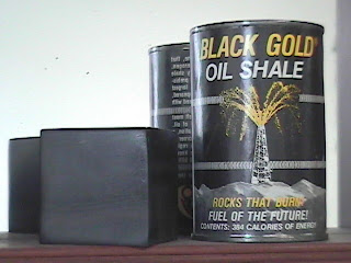Oil shale in a can!