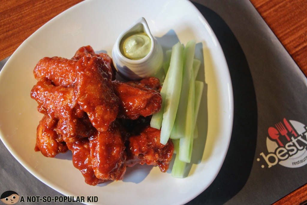 The delectable BBQ Glazed Chicken Wings of Besty's