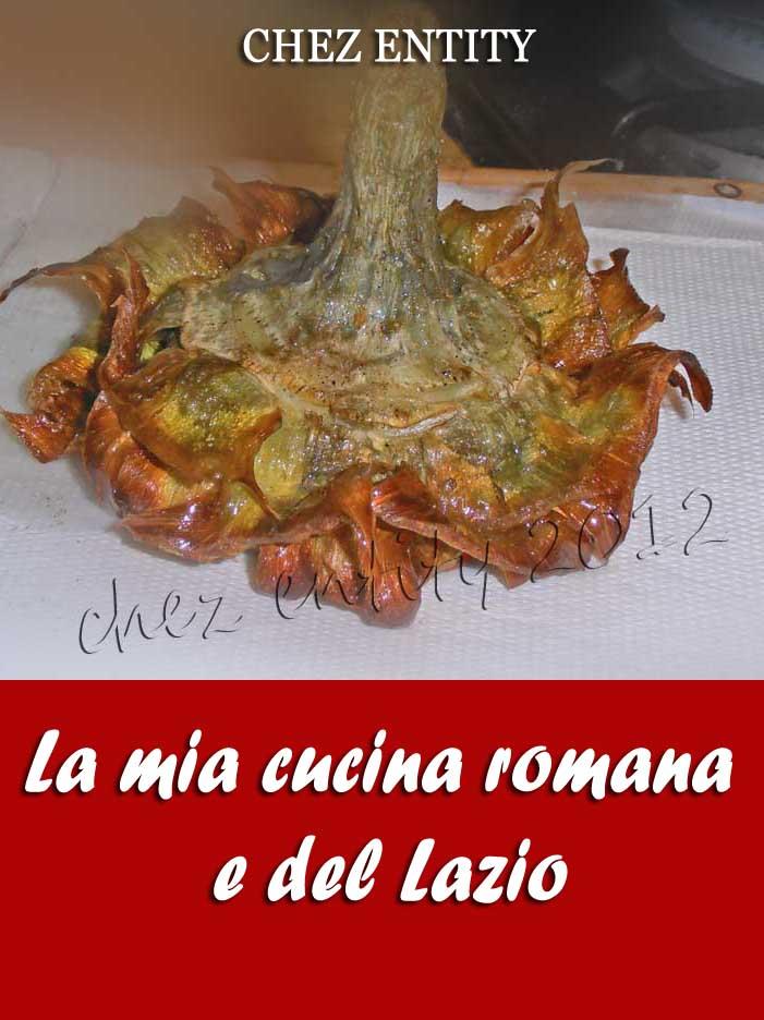 La mia cucina romana e laziale chez entity for La cucina romana