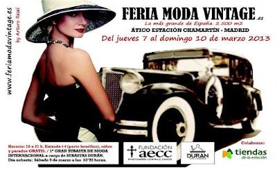 Feria de Moda Vintage de Madrid