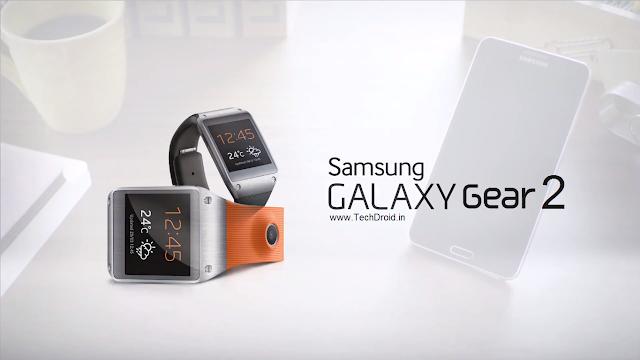 Samsung Galaxy Gear 2 mockup