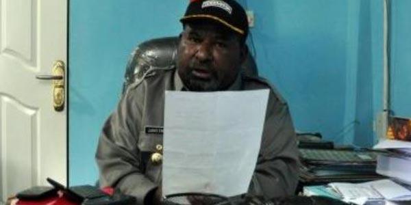 Gubernur Papua, Lukas Enembe - antarafoto