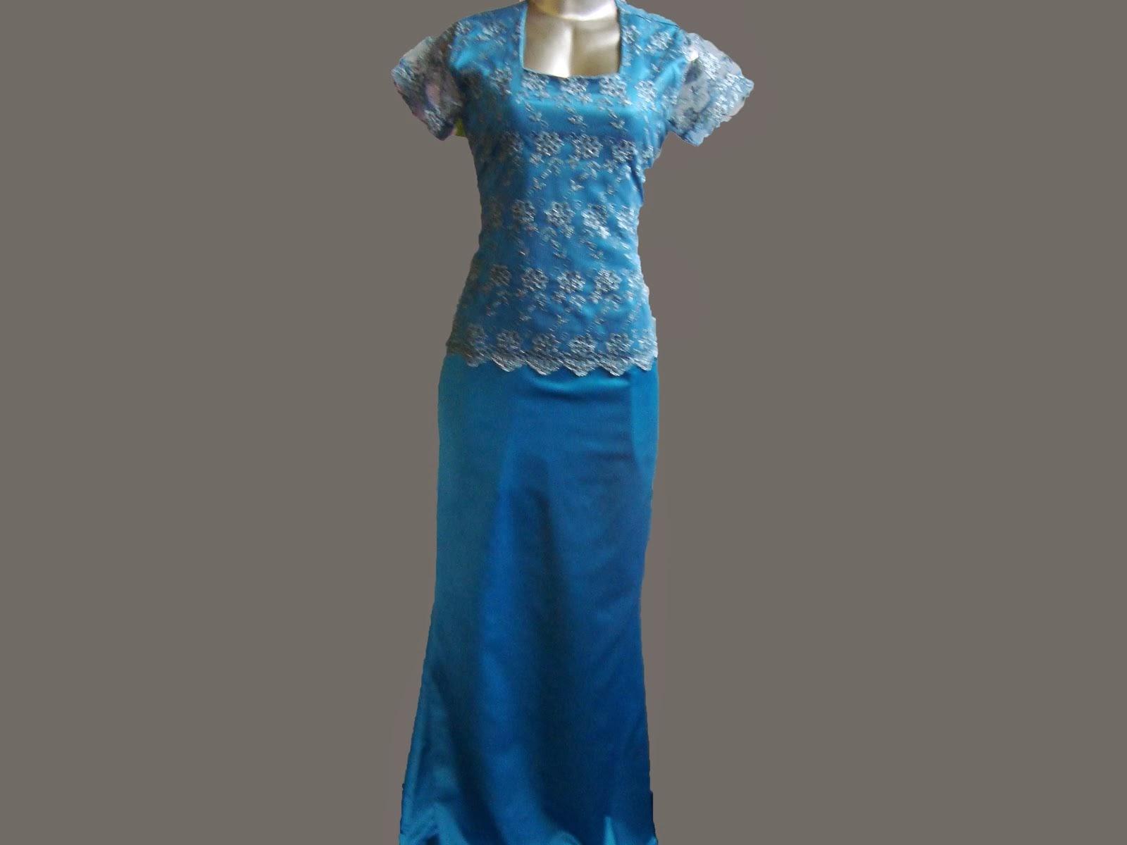 vestido de renda com seda