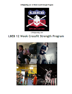LBEB 12 Week Crossfit Strength Manual