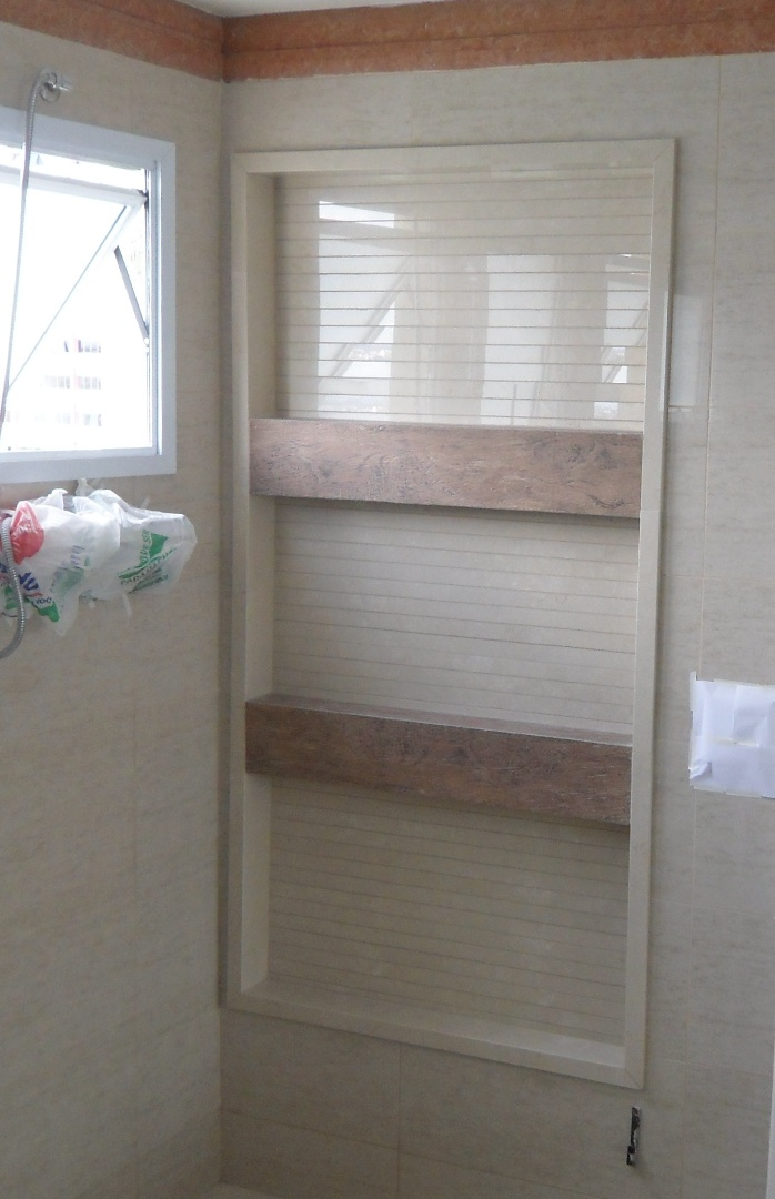 Bel Taglio , cortes especiais em porcelanato Nicho para banheiro em Porcela -> Nicho Banheiro Em Porcelanato