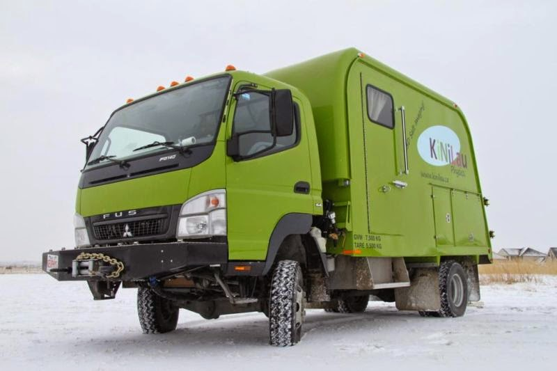 Used Rvs 4x4 Off Road Adventure Rv Truck For Sale By Owner