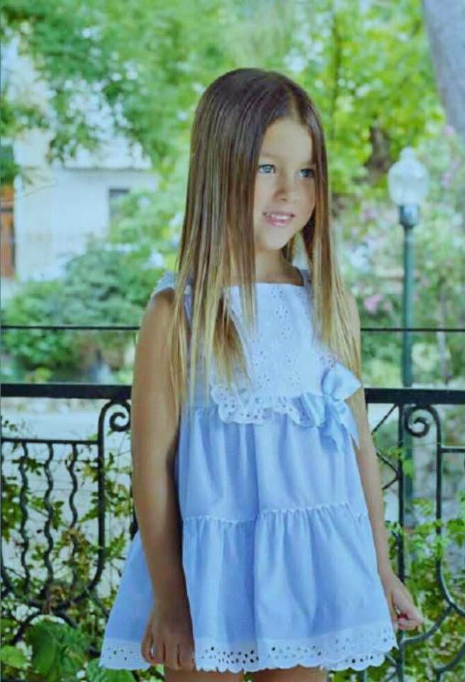 Vestido para niña de 2 a 10 años de Dolce Petit