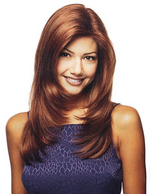 Cute Layered Haircut, Long Hairstyle 2013, Hairstyle 2013, New Long Hairstyle 2013, Celebrity Long Romance Romance Hairstyles 2013
