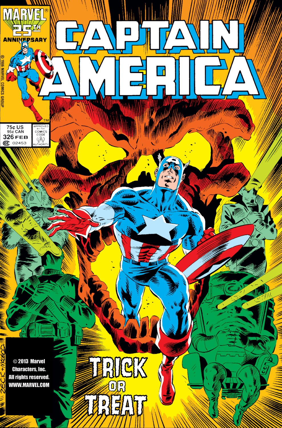 Captain America (1968) Issue #326 #255 - English 1