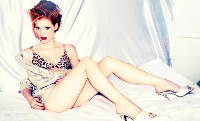 Jessica Chastain : Top 10  Hottest Hollywood Actresses