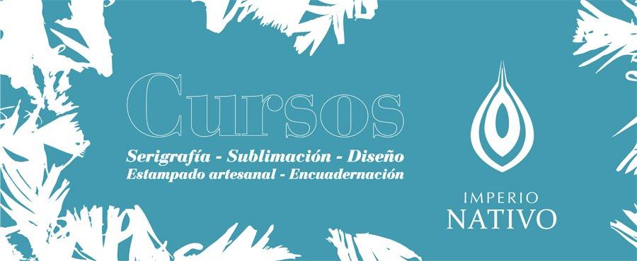 Serigrafía Rosario - Sublimación Rosario. Curso de Estampado y Texturas Textiles. Encuadernación.