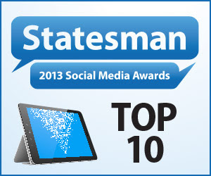 Statesman Social Media Award SSMA Winner 2013