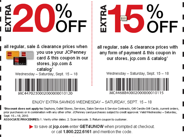Online penney coupons