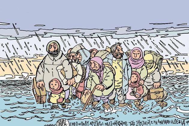 O Γιάννης Καλαϊτζής και οι πρόσφυγες
