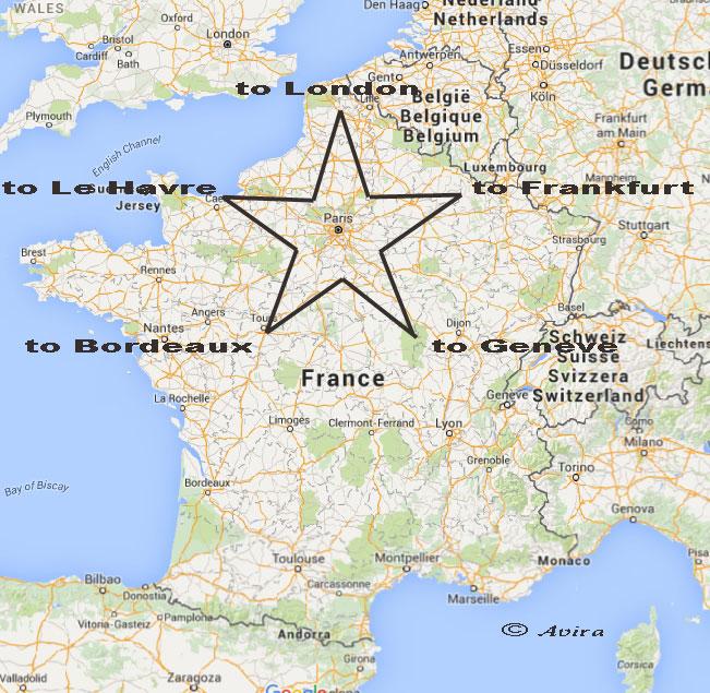 Panorama of the World: Star Shape of Paris