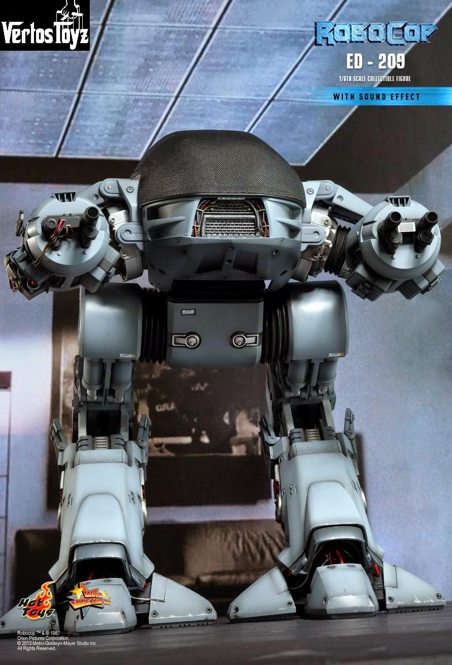 In Stock Hot Toys 1/6 scale Robocop ED209. Last Piece