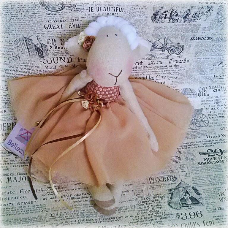 овечки-девочки, овечки в платьях, овечка-балерина, овечка куколка