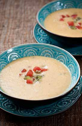 SPOON: Chilled Melon, Yogurt, and Ginger Soup