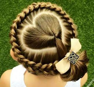 Gaya Rambut Anak Perempuan Dikepang