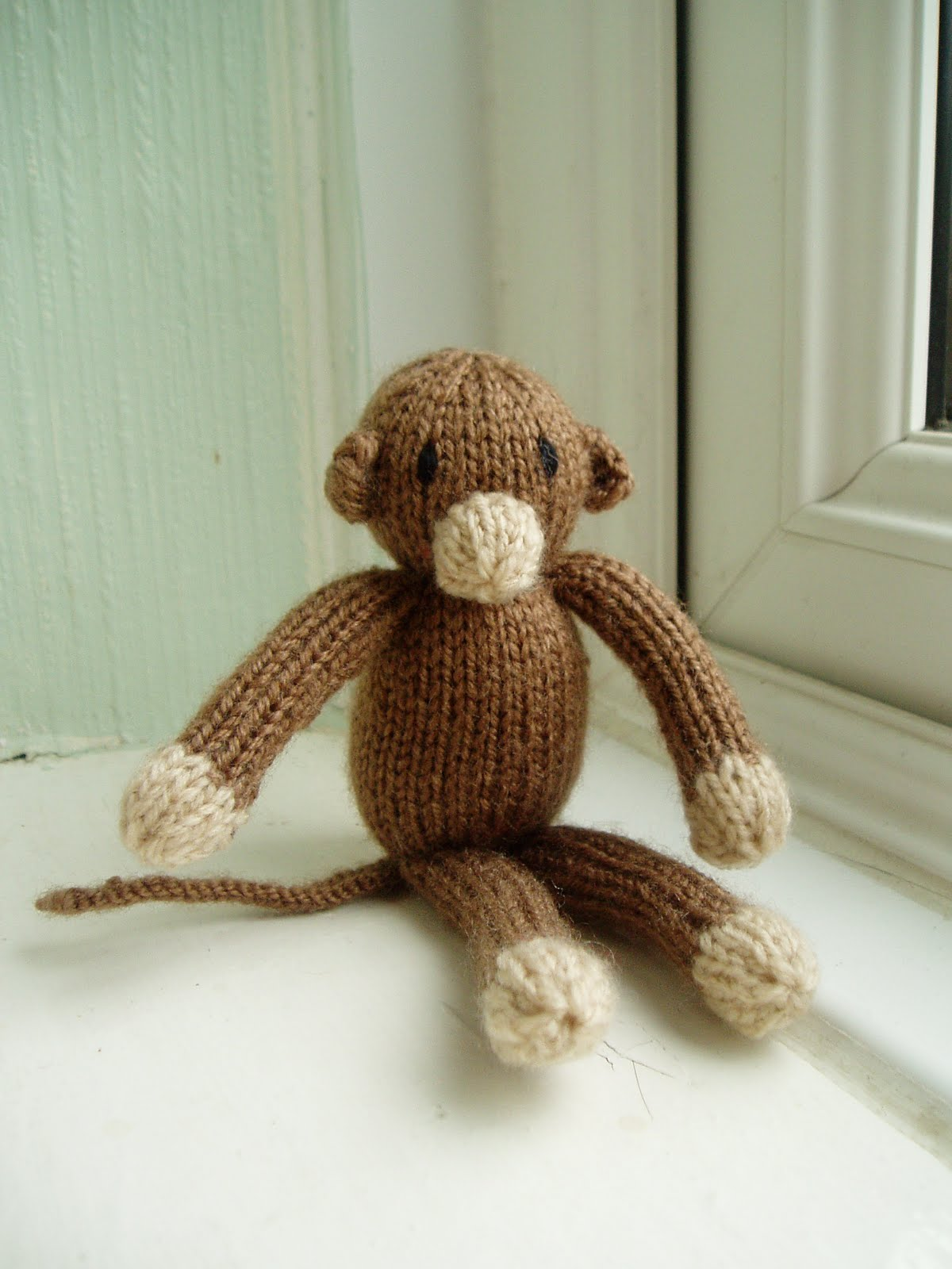 Knitting Patterns For Miniature Animals : Miss Aine: Free Pattern - Mini Monkey