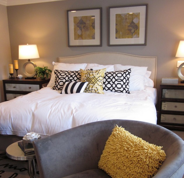 Make Decorative Pillows Bedroom : Belvivere Luxury Linens: WHO SAID WHITE BEDDING IS BORING?