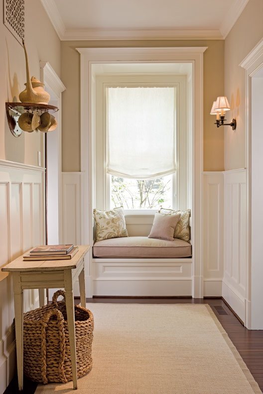 Open door inspiration the window seat for End of hallway ideas
