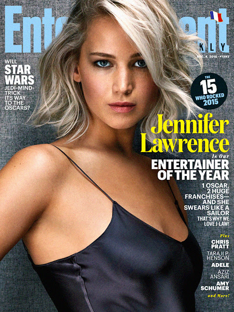 Actress, @ Jennifer Lawrence - Entertainment Weekly Magazine, December 2015