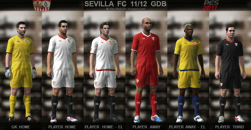 Sevilla 11/12 Kit Set by Txak
