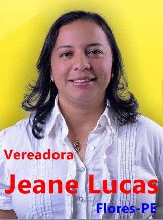 Vereadora Jeane Lucas