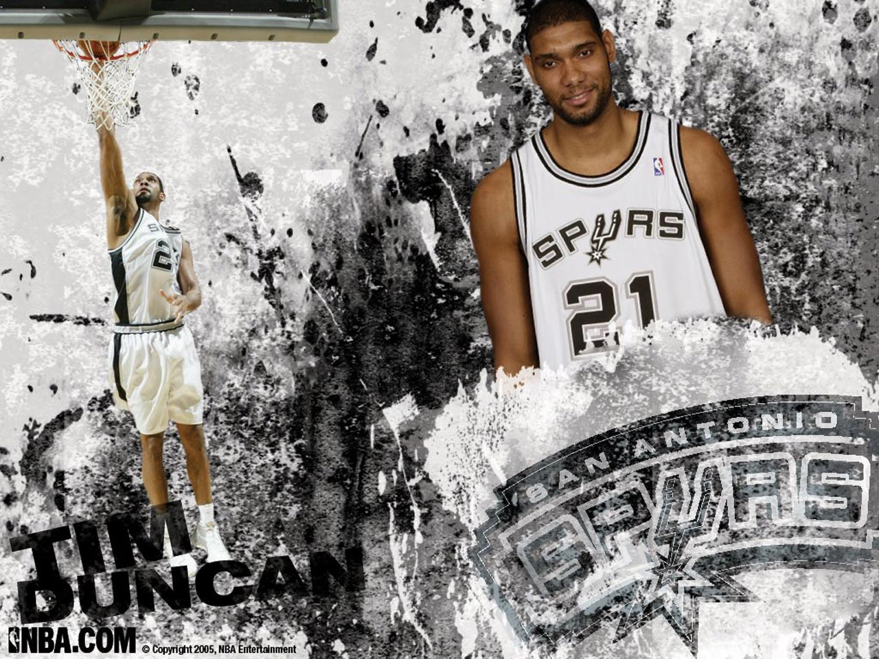 Tim duncan best nba wallpapers nba wallpapers basket - Tim duncan iphone wallpaper ...