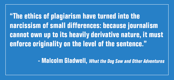 The Ethics of Plagiarism