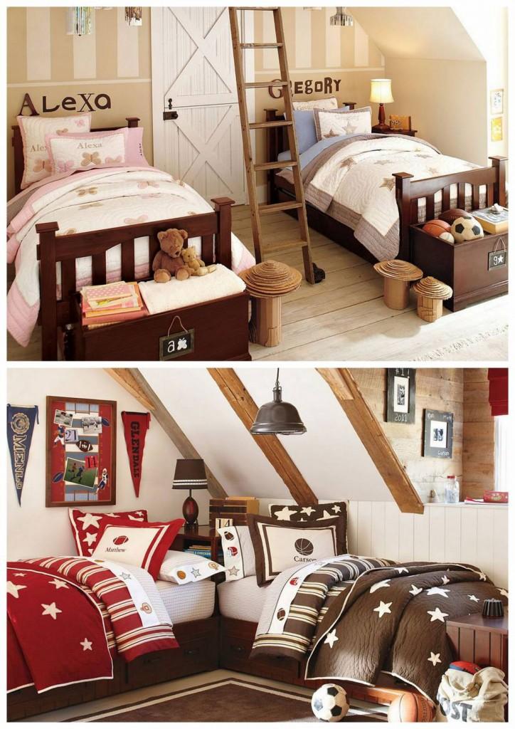 Des chambres communes pour vos enfants d cor de maison for Chambre de communes