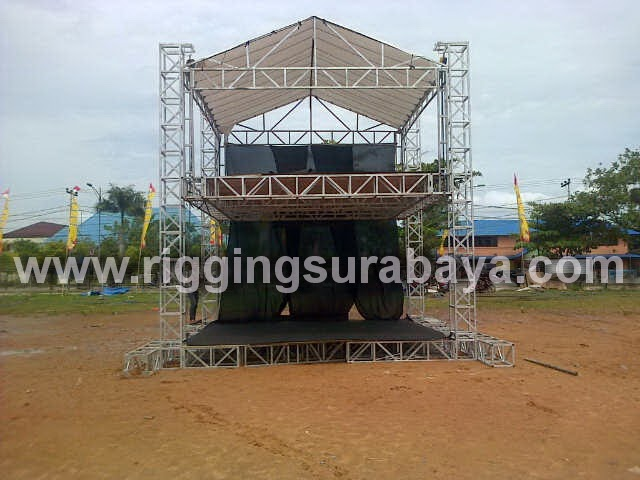 Rigging FOH Double Deck