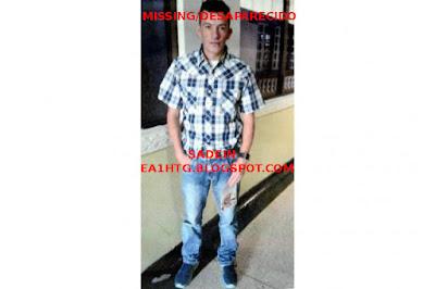 desaparecido en colombia samuel sanchez