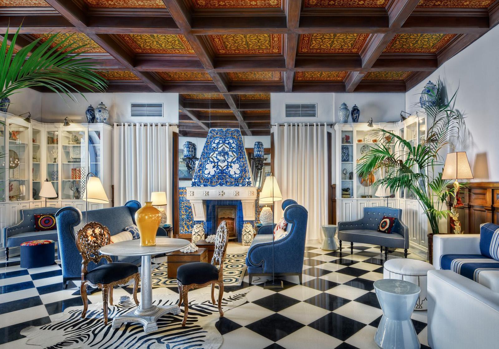 hotel bela vista eclectic interiors - Eclectic Hotel 2015