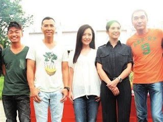 Donnie Yen celebrates birthday with cast and crew