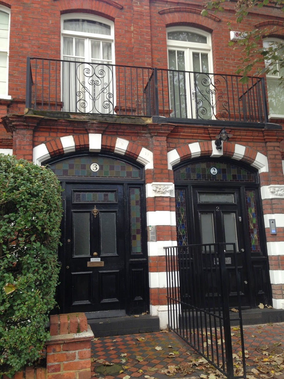 Doorways, Fulham, London, SW6