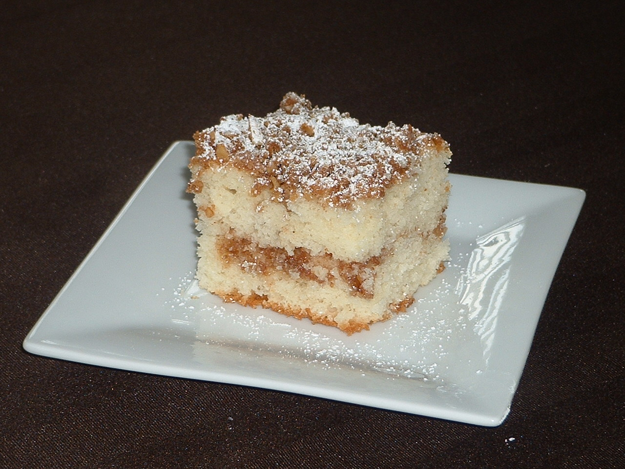 Someone's in the Kitchen: Streusel Layer Coffee Cake
